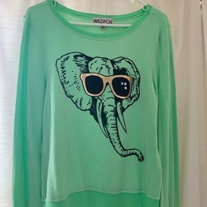 Wildfox Baggy Beach Jumper (Elephant)